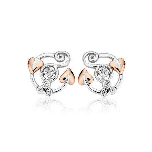 Clog earrings