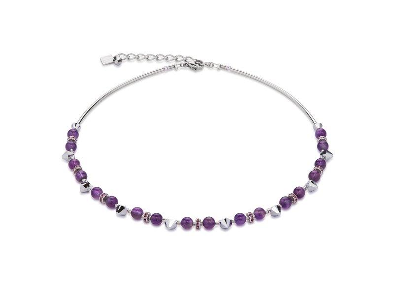Coeur De Lion Violet Necklace