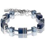 Coeur De Lion Classic GEOCUBE Bracelet Deepest Blue
