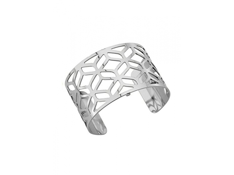 Product standard 70265411600000   les georgettes   lgs customisable silver plated ahambra cuff 40mm   silver   3607051375247