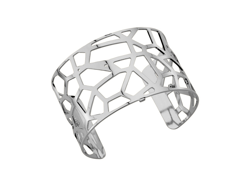 Product standard 70261601600000   les georgettes   lgs customisable silver plated giraffe cuff 40mm   silver   3607051371591