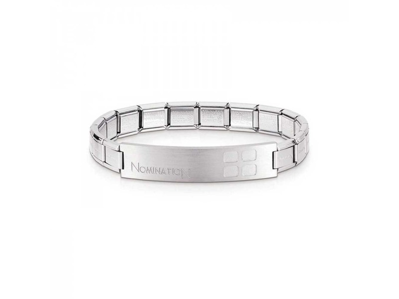 Product standard 021108 006 003   nomination italy   stainless steel trendsetter bracelets    stainless steel   8033497113092