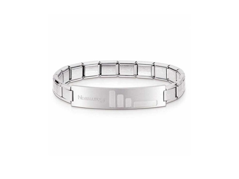 Product standard 021108 008 003   nomination italy   stainless steel trendsetter bracelets    stainless steel   8033497114341