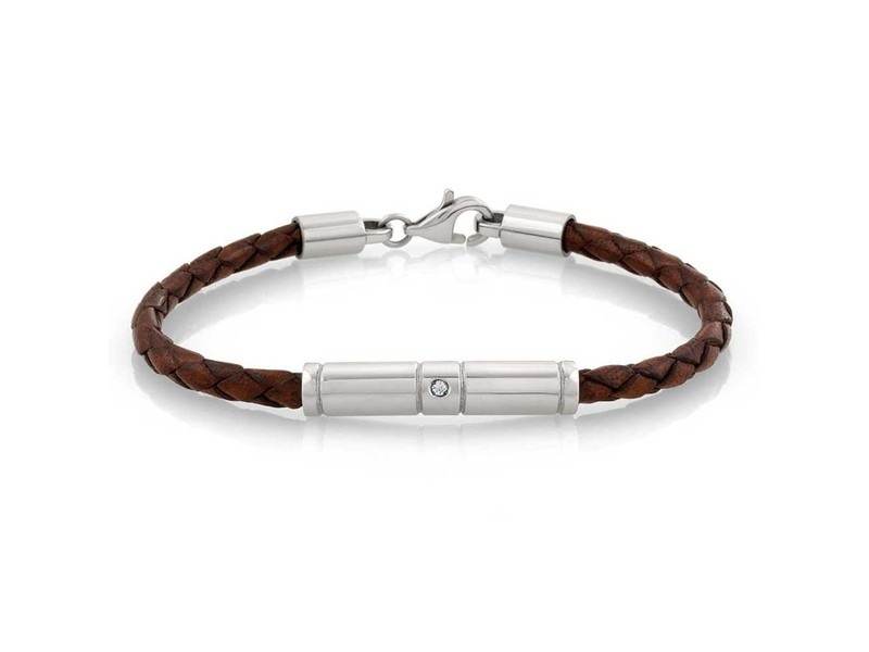 Product standard 026420 003   nomination italy   stone set brown tribe leather bracelets       8033497357021