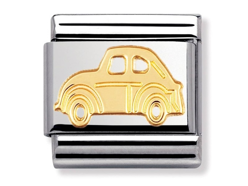 Product standard 030108 05   nomination italy   composable gold car link    gold   8033497011220