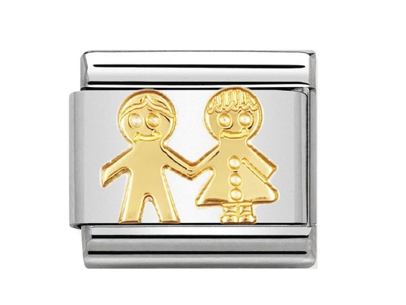 Product standard 030110 05   nomination italy   composable gold children link    gold   8033497011374