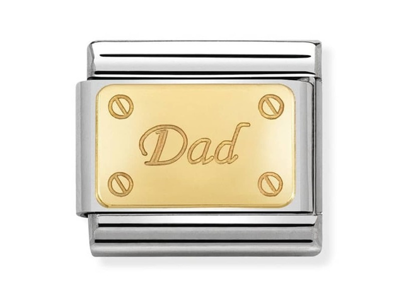 Product standard 030121 38   nomination italy   composable dad link    gold