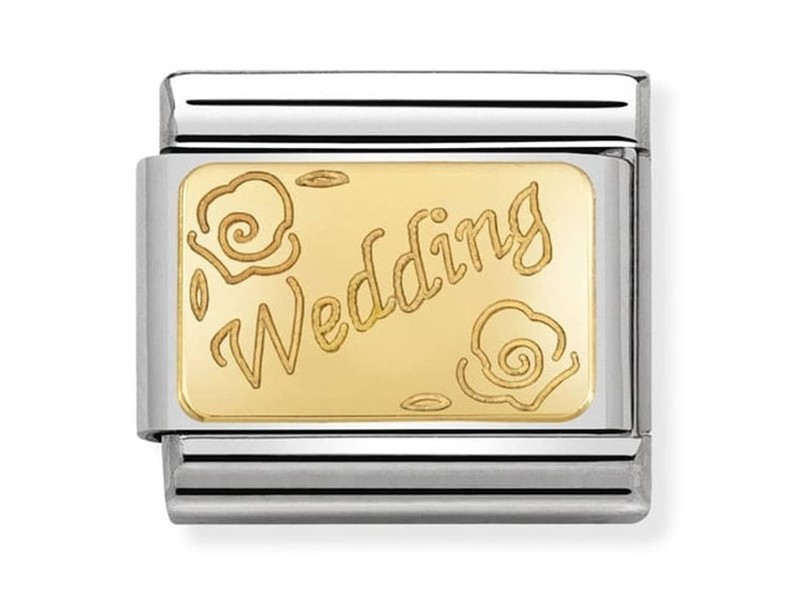 Product standard 030121 45   nomination italy   composable wedding link    gold   8033497429544
