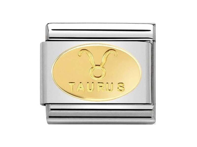 Product standard 030165 02   nomination italy   composable classic taurus link    gold   8033497440716
