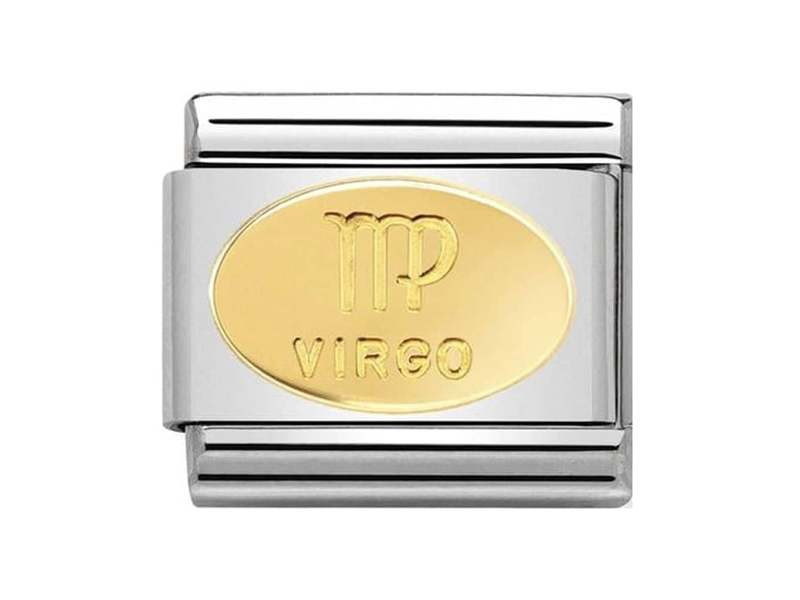 Product standard 030165 06   nomination italy   composable classic virgo link    gold   8033497440754