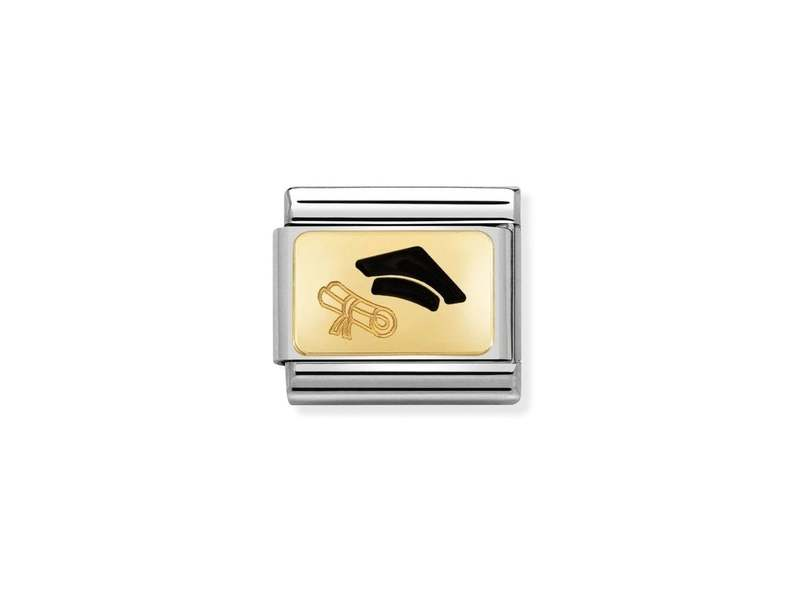 Product standard 030284 27   nomination italy   composable graduation scroll link    gold   8033497429834