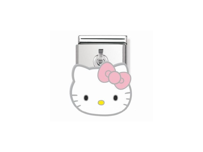 Product standard 031780 02   nomination italy   composable hello kitty charm link    silver   8033497222817
