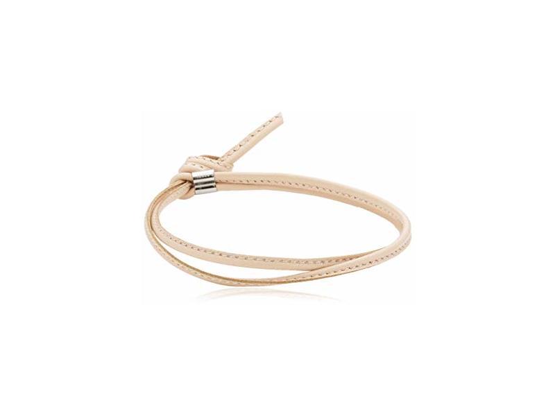 Product standard 065088 006   nomination italy   bon bon pink leather bracelets    gold   8033497301079