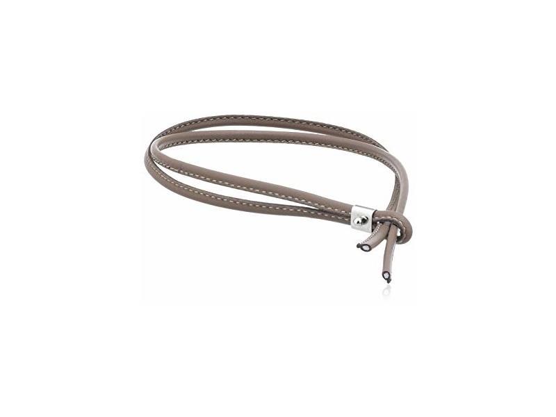 Product standard 065088 015   nomination italy   bon bon brown leather  bracelets   gold   8033497315021