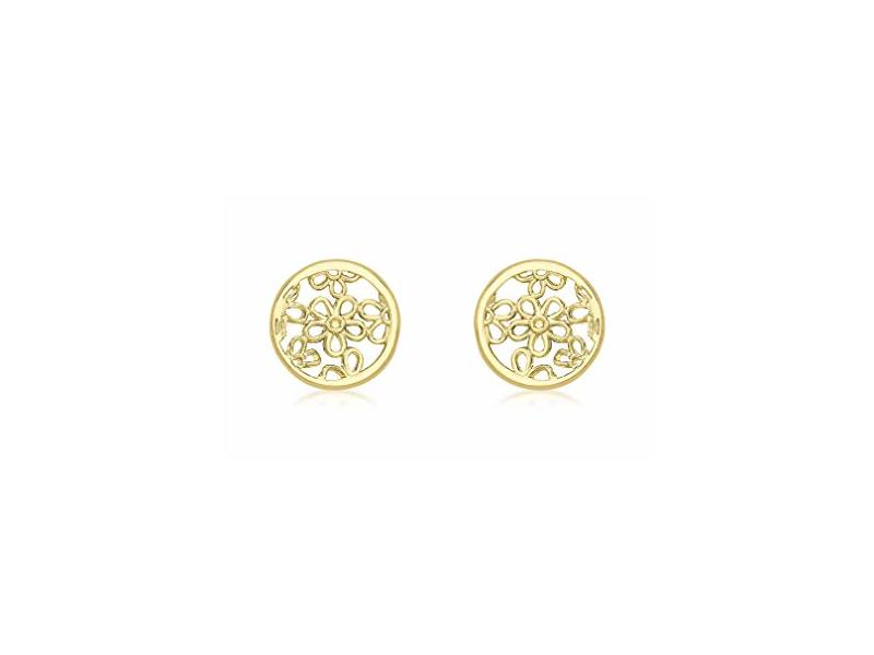 Product standard 1.55.6899   fourth avenue   our gold round filigree stud earrings   gold