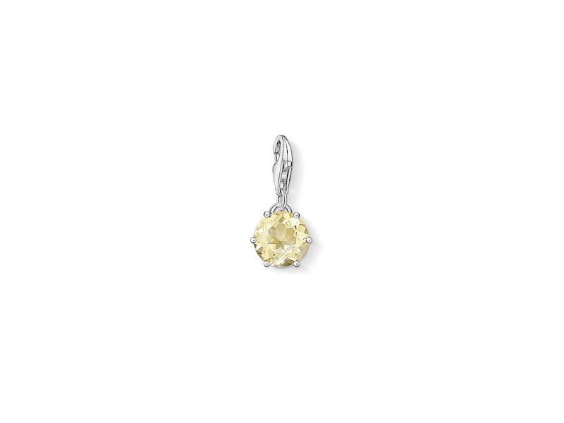 Product standard 1264 774 4   thomas sabo   ts silver   yellow quartz charm    silver   4051245176759