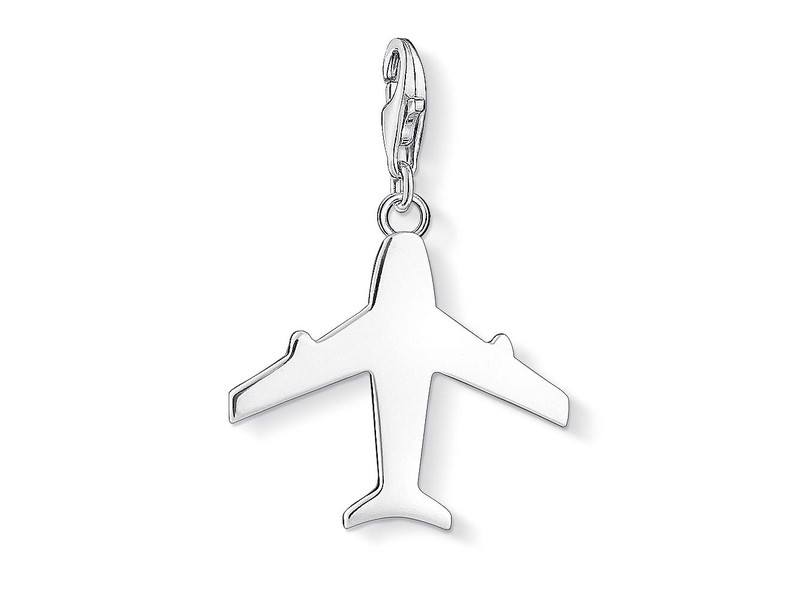 Product standard 1350 001 12   thomas sabo   ts silver aeroplane charm    silver   4051245231403
