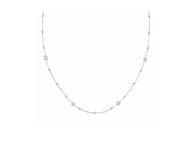 Product standard 142622 010   nomination italy   bella stone set silver necklaces    silver   8033497368690