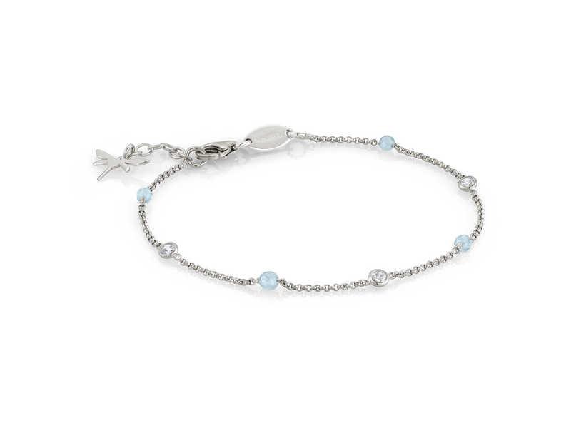 Product standard 142640 012   nomination italy   stone set silver   blue dragonfly bracelets    silver