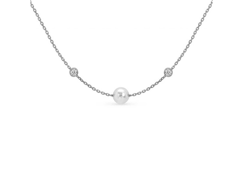 Product standard 142656 010   nomination italy   rose silver bella pearl   cz necklaces    silver   8033497400154