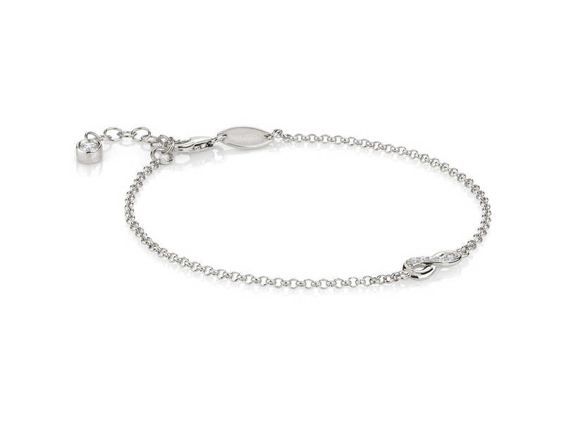 Product standard 146200 010   nomination italy   stone set gioie silver infinity bracelets   silver   8033497391520