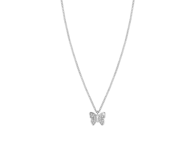 Product standard 146201 016   nomination italy   stone set silver gioie butterfly necklaces    silver   8033497391742