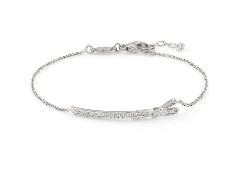 Product standard 146302 010   nomination italy   stone set my cherie silver bow bracelets    silver   8033497401144
