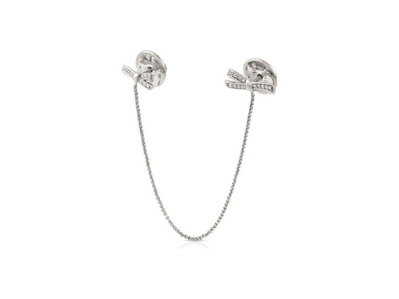 Product standard 146308 010   nomination italy   my cherie double bow brooch   silver   8033497401359