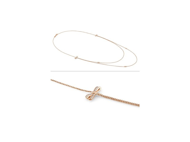 Product standard 146316 011   nomination italy   rose gold stone set bow necklaces    rose gold   8033497402684