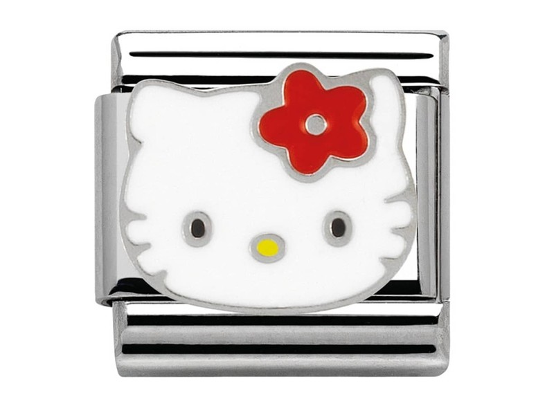 Product standard 230290 09   nomination italy   composable hello kitty classic link   stainless steel