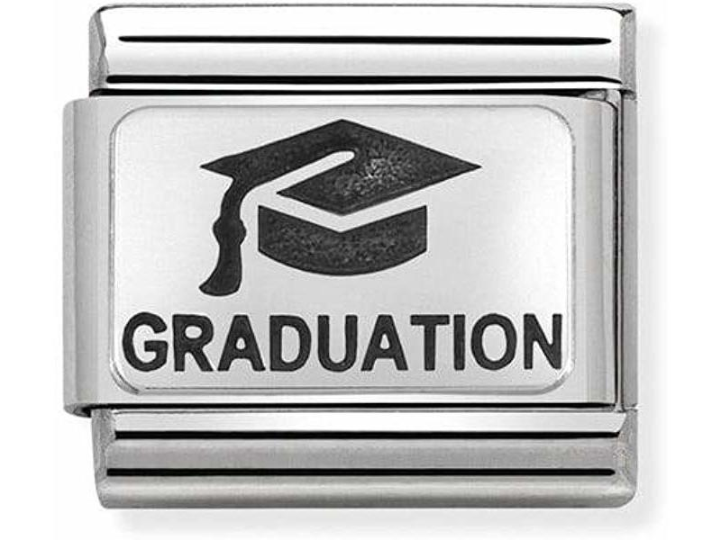 Product standard 330109 02   nomination italy   composable graduation link    silver   8033497430403