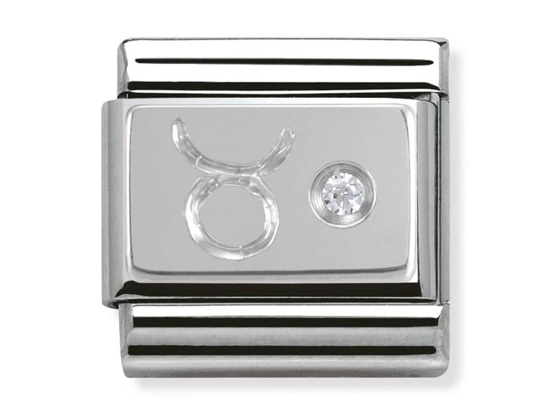 Product standard 330302 02   nomination italy   composable silver shine taurus link    silver   8033497274403