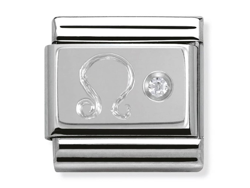 Product standard 330302 05   nomination italy   composable silver shine leo link    silver   8033497274434