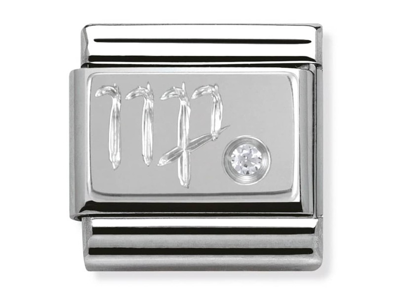Product standard 330302 06   nomination italy   composable silver shine virgo link    silver   8033497274441