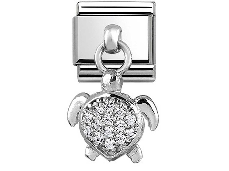 Product standard 331800 24   nomination italy   composable sea turtle charm link    silver   8033497399830