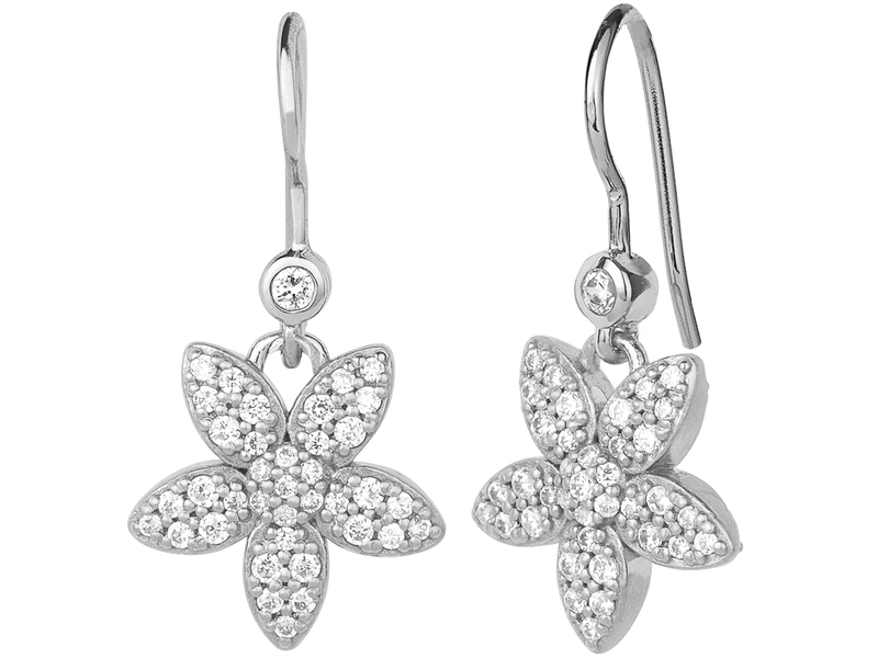 Product standard 4 018a r   bybiehl   forget me not  sparkle  earring   silver