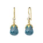 byBiehl Prisma Dark Blue Earrings