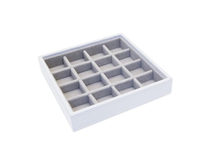 Product standard 70745   fourth avenue   white criss cross jewellery box