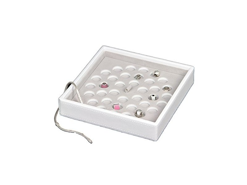 Product standard 70943   fourth avenue   white stacker jewellery box