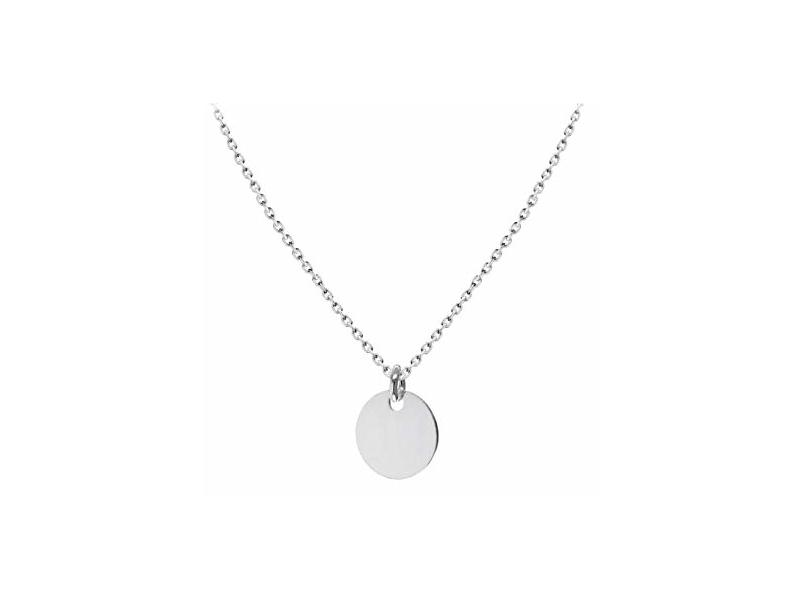 Product standard 8.19.5484   fourth avenue   our silver disk   chain pendants   silver