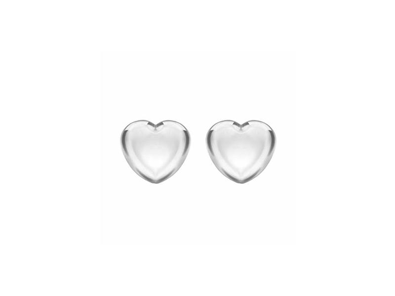 Product standard 8.55.5619   fourth avenue   our silver heart stud earrings   silver