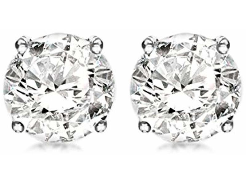 Product standard 8.58.3189   fourth avenue   our silver   cz stud earrings   silver