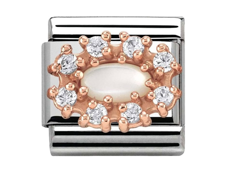 Product standard 430308 12   nomination italy   composable couture clusters mop link    rose gold   8033497389114