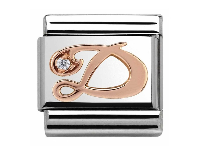 Product standard 430310 04   nomination italy   composable rose d link    rose gold   8033497409201