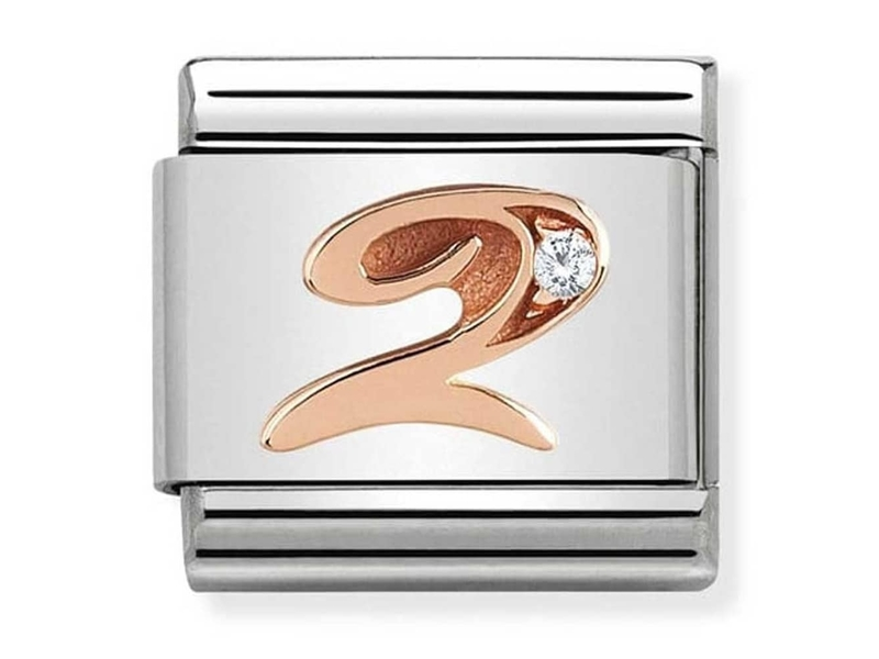 Product standard 430315 02   nomination italy   composable rose 2 link    rose gold   8033497420527