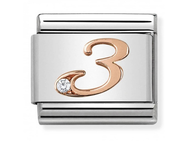 Product standard 430315 03   nomination italy   composable rose 3 link    rose gold   8033497420534