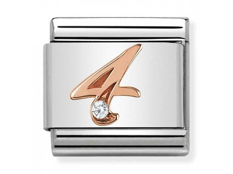 Product standard 430315 04   nomination italy   composable rose 4 link    rose gold   8033497420541