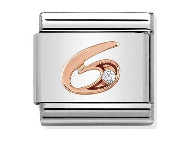 Product standard 430315 06   nomination italy   composable rose 6 link    rose gold   8033497420565