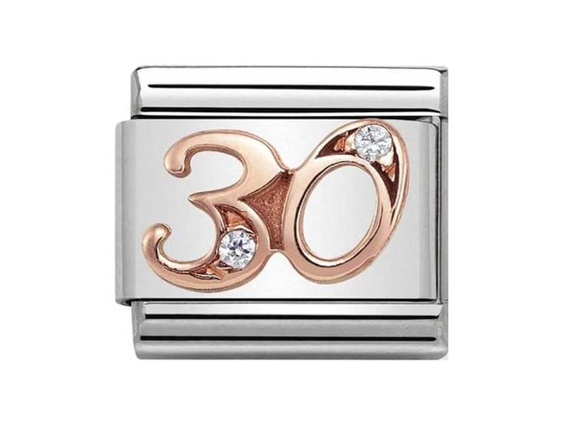 Product standard 430315 30   nomination italy   composable rose 30 link    rose gold   8033497440877