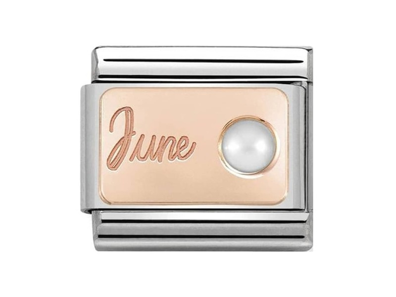 Product standard 430508 06   nomination italy   composable june birthstone link   rose gold   8033497441089